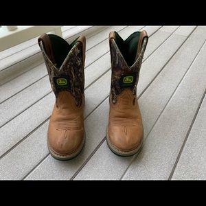 Boys John Deere Boots 12.5